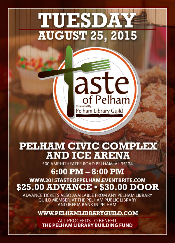 Cake Art Pelham Alabama : Pelham Public Library: The Taste of Pelham